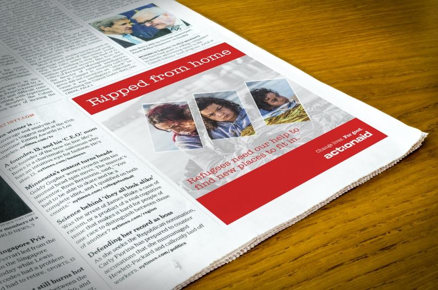 newspapermockup